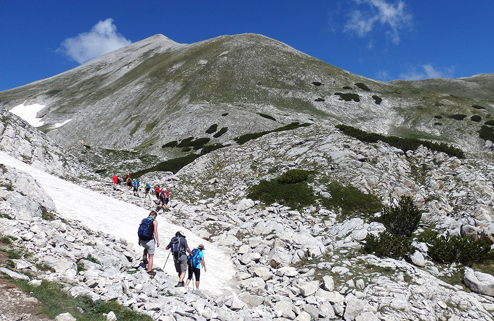 guided and self-guided hiking tours in pirin, bulgaria