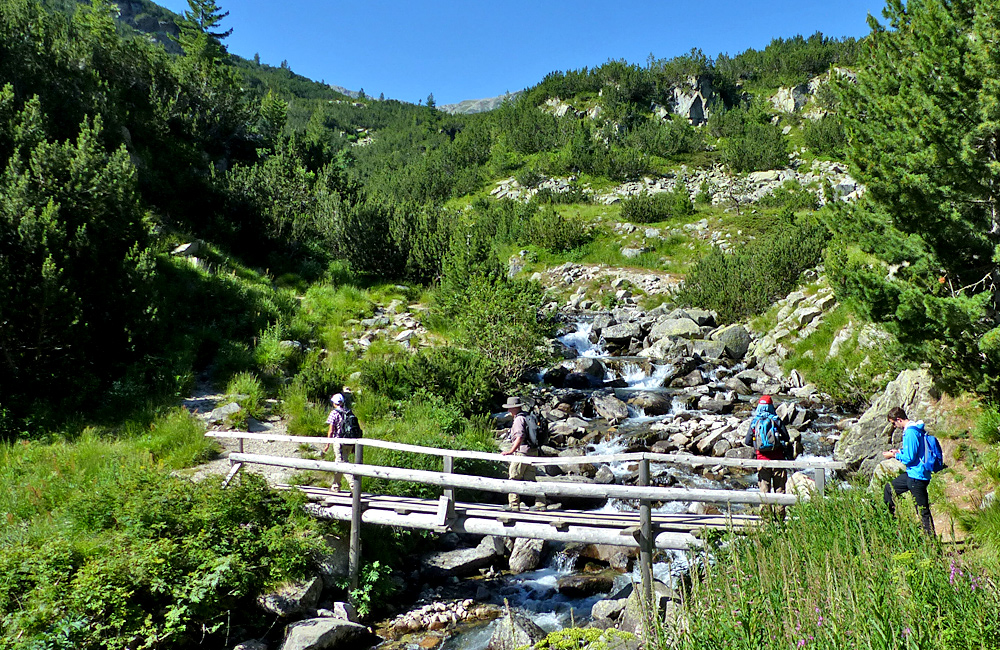 guided and self-guided walking tours in pirin mountains, bulgaria