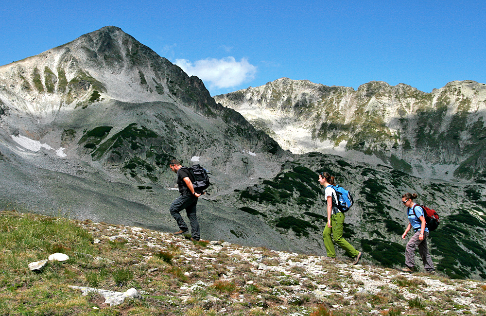 pirin mountains guided walking and hiking treks, bulgaria
