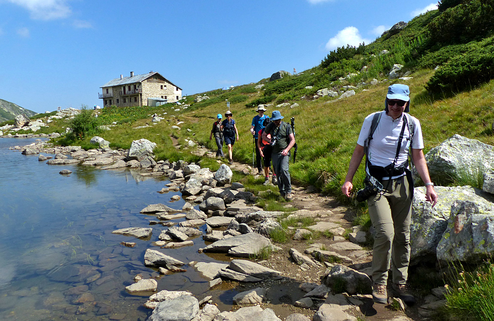 viajes culturales y de senderismo en bulgaria, montañas de rila