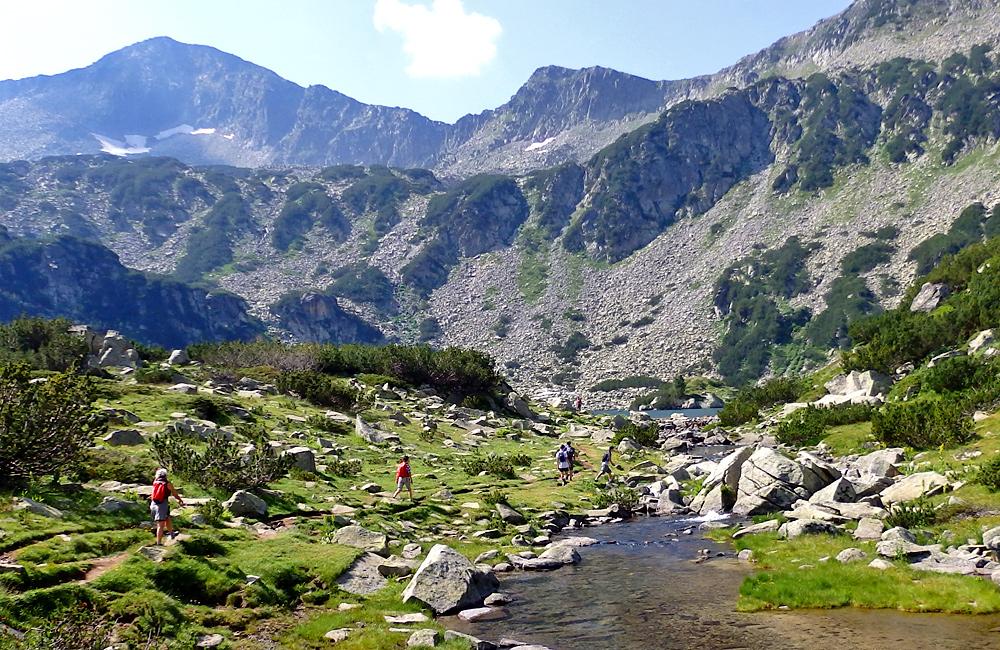 escursioni nelle montagne di Pirin, in Bulgaria