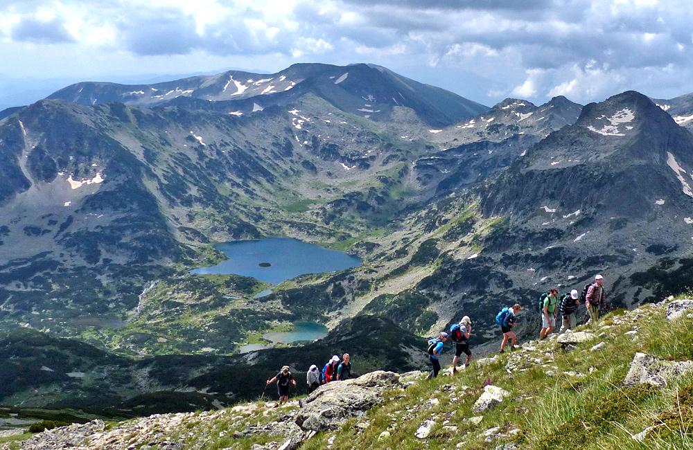 picos polezhan y el lago popovo, montañas pirin, excursiones de senderismo en bulgaria