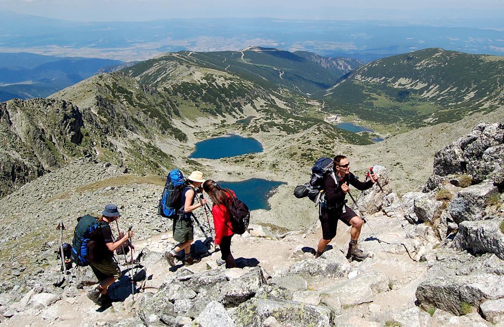אפשרויות טיולים מודרכים ועצמיים הרי רילה בולגריה