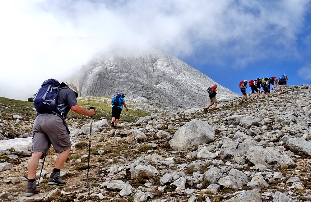 pirin mountains climbing tour to mt. vihren, bulgaria