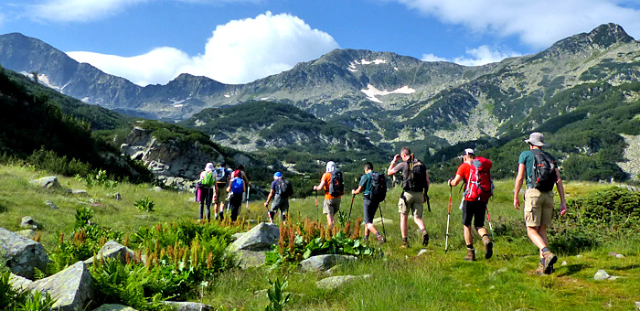 guided hiking and escorted walking and trekking tours of bulgaria