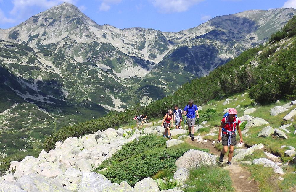 pirin mountains hiking and trekking holidays