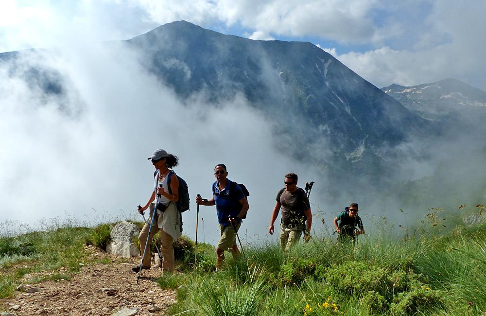 wanderungen und trekkingreisen in bulgarien, piringebirge