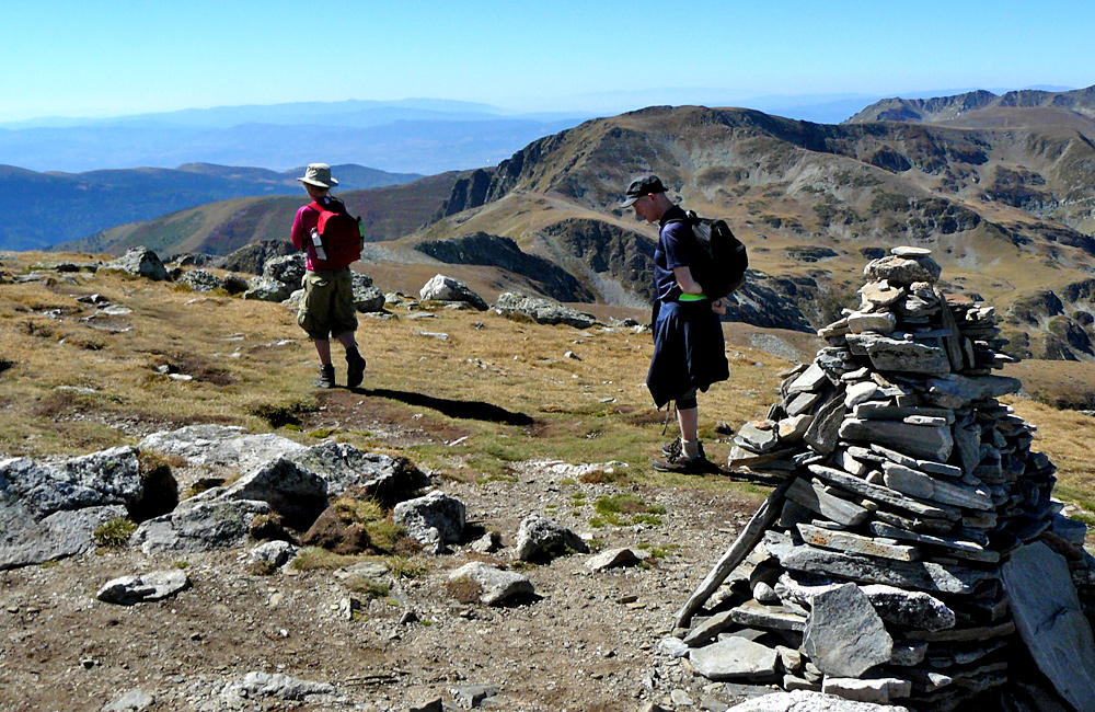 trekking and climbing tour in rila to malyovitsa summit
