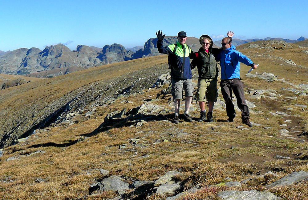 rila mountains and malyovitsa peak hiking trek