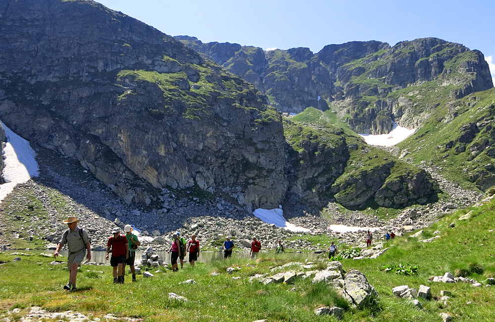 escorted trekking and rambling tours in the rila mountains, bulgaria