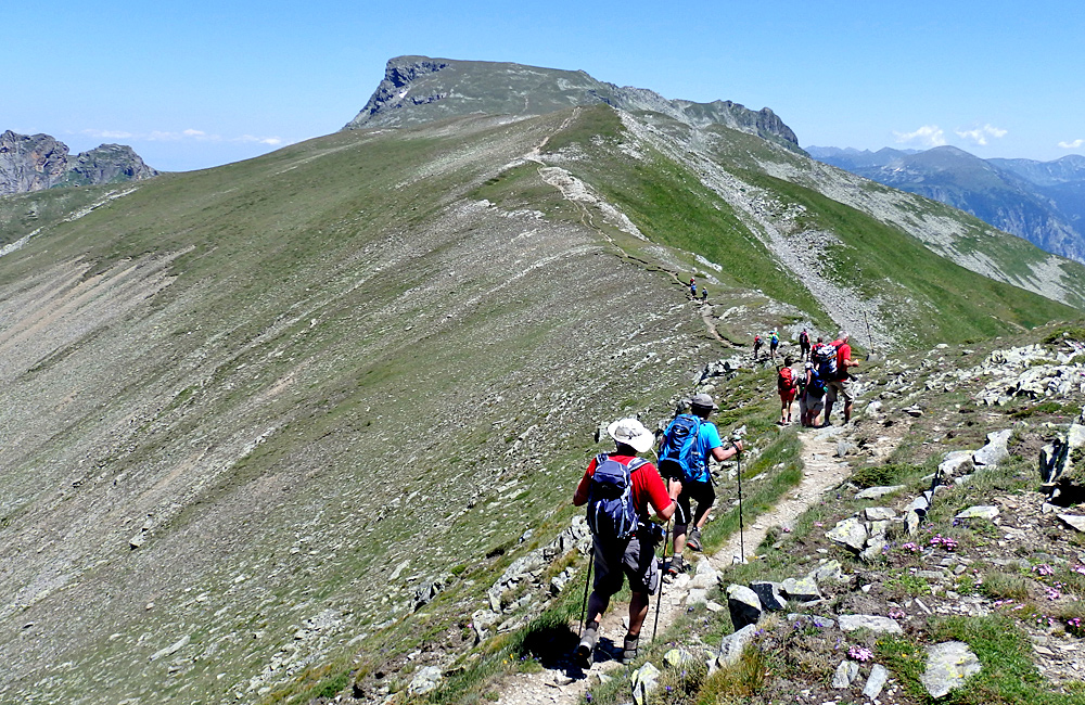 rila mountains guided and self-guided walking tours, bulgaria