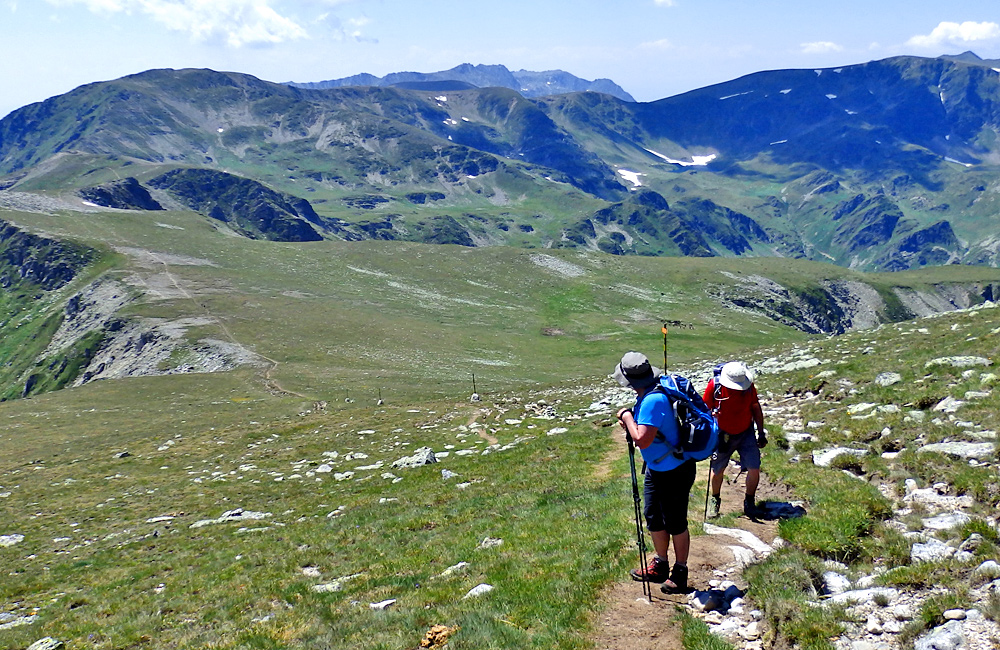 trekking and climbing tour to malyovits asummit, rila mountains in bulgaria