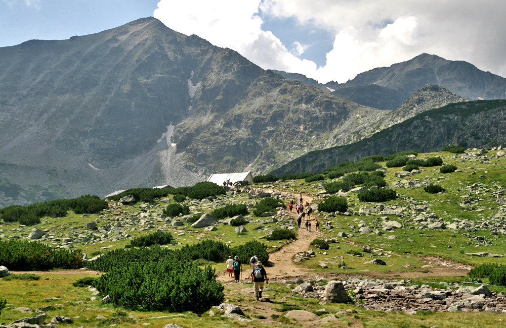 hiking tour to musala in rila mountains, bulgaria