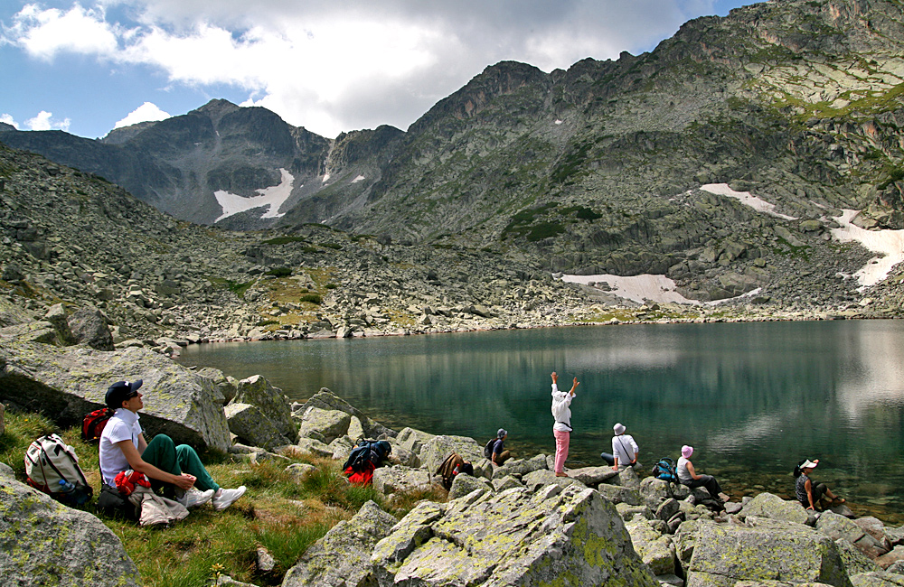 climbing mount musala in rila mountains hiking tour