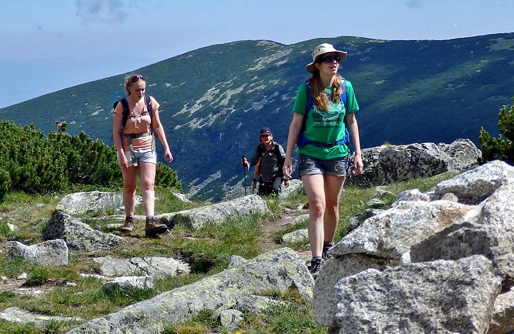 caminata autoguiada y trekking montañas de rila el pico de musala en bulgaria