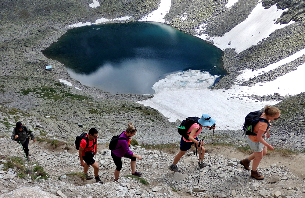trekking and hiking tour, climbing mt. musala and mt. vihren, bulgaria