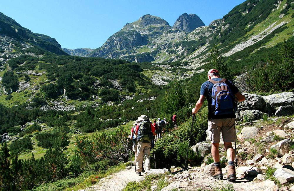 vetta della malyovitsa, escursioni di trekking nelle montagne rila, bulgaria
