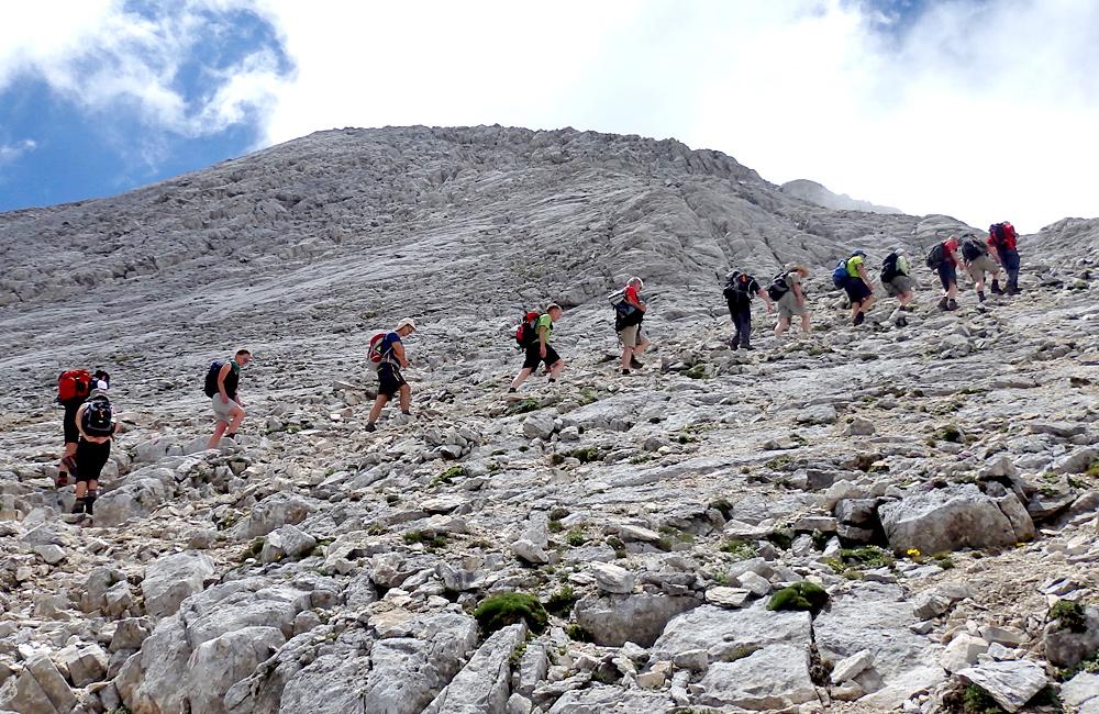 הרי פירין מודרך הליכה טיול רגלי טרק