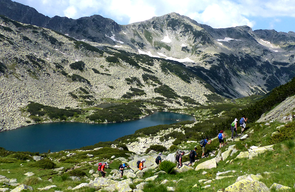 escorted rambling trips in rila and pirin, bulgaria