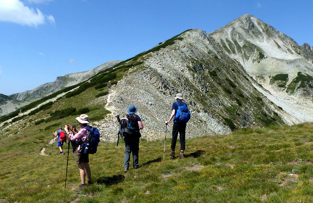 pirin mountains hiking treks, bulgaria