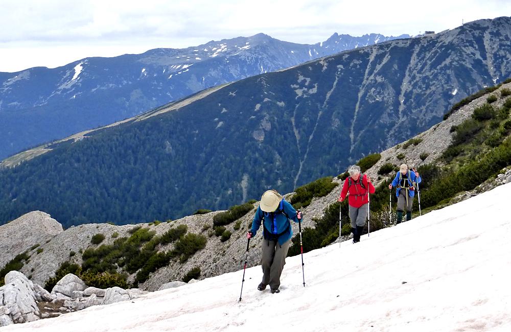 self-guided hiking treks in the prin mountains, bulgaria