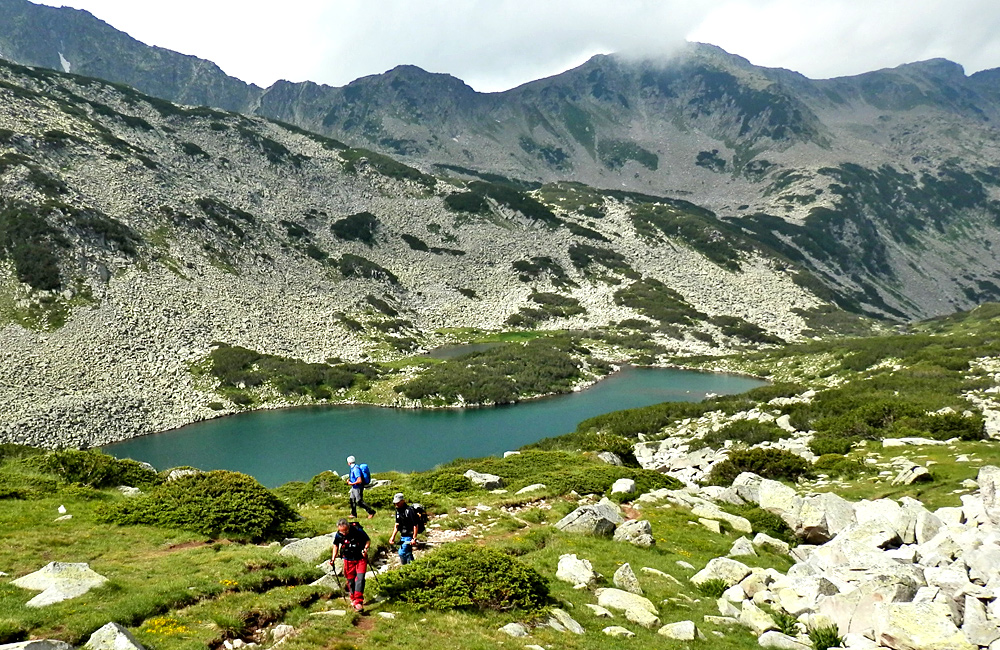 self-guided hiking and trekking in the pirin mountains, bulgaria