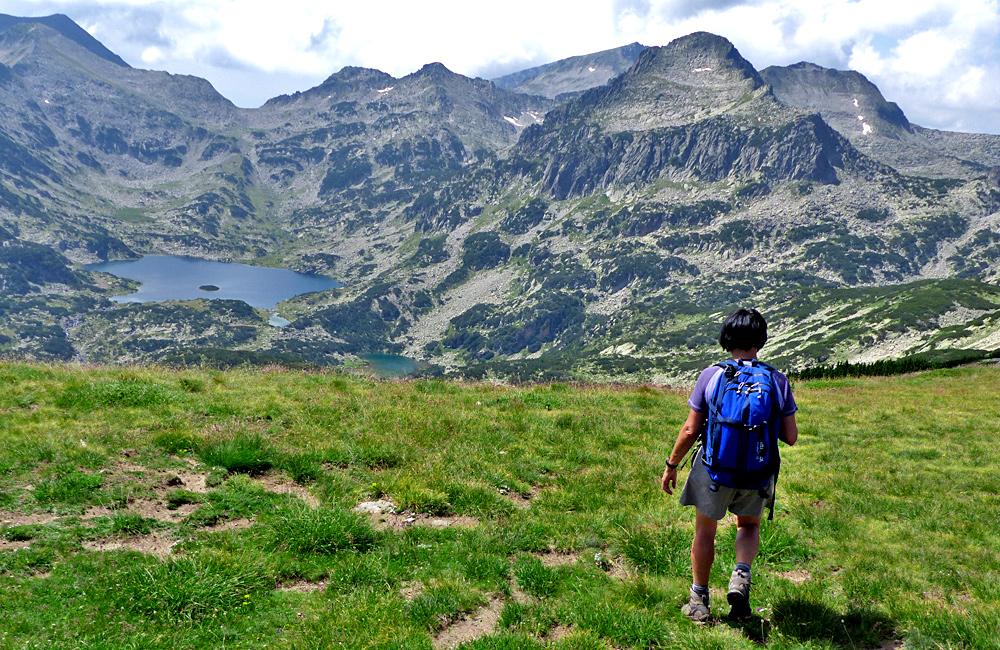 picos polezhan y lago popovo, excursiones de senderismo en las montañas de pirin, bulgaria