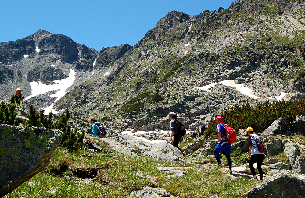 climbing musala peak, hiking tour in rila mountains