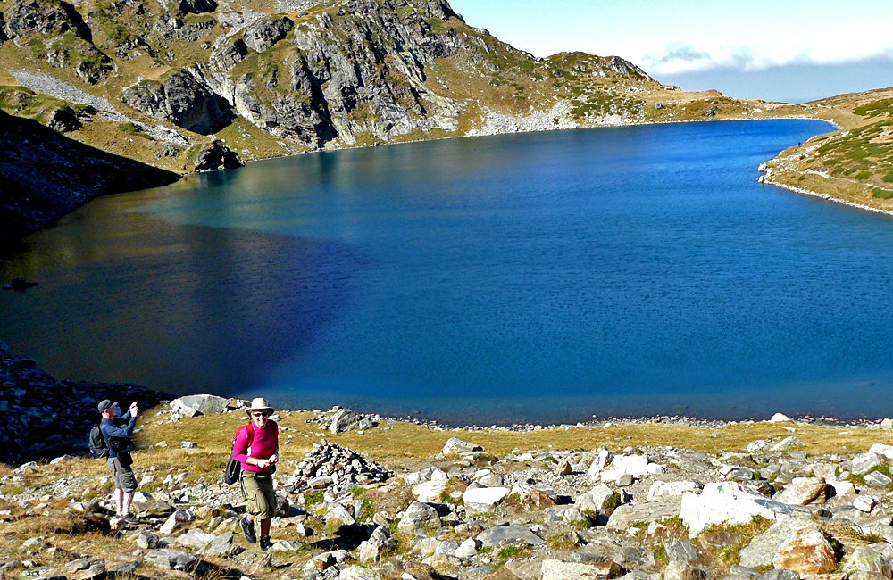 self-guided hiking and trekking trips in the rila mountains, bulgaria