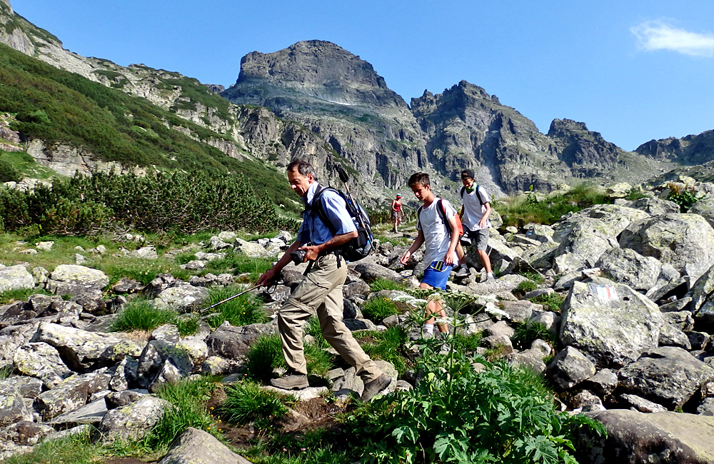 climbing malyovitsa summit in rila mountains, hiking tour