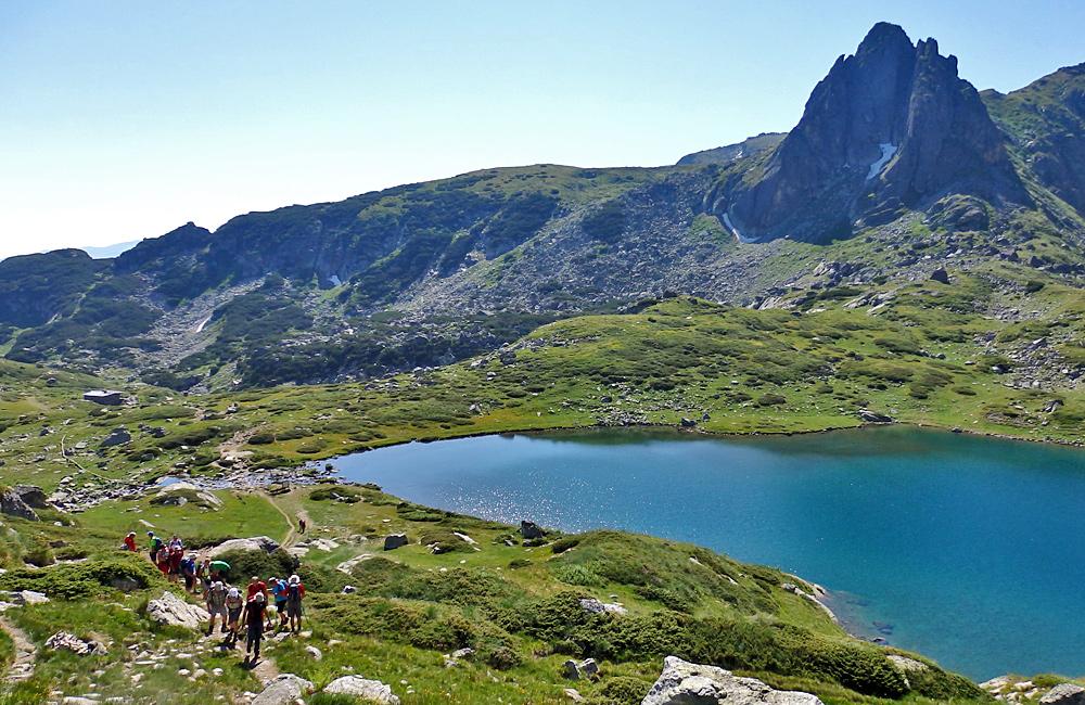 Excursiones de senderismo y trekking montañas de rila los siete lagos en bulgaria