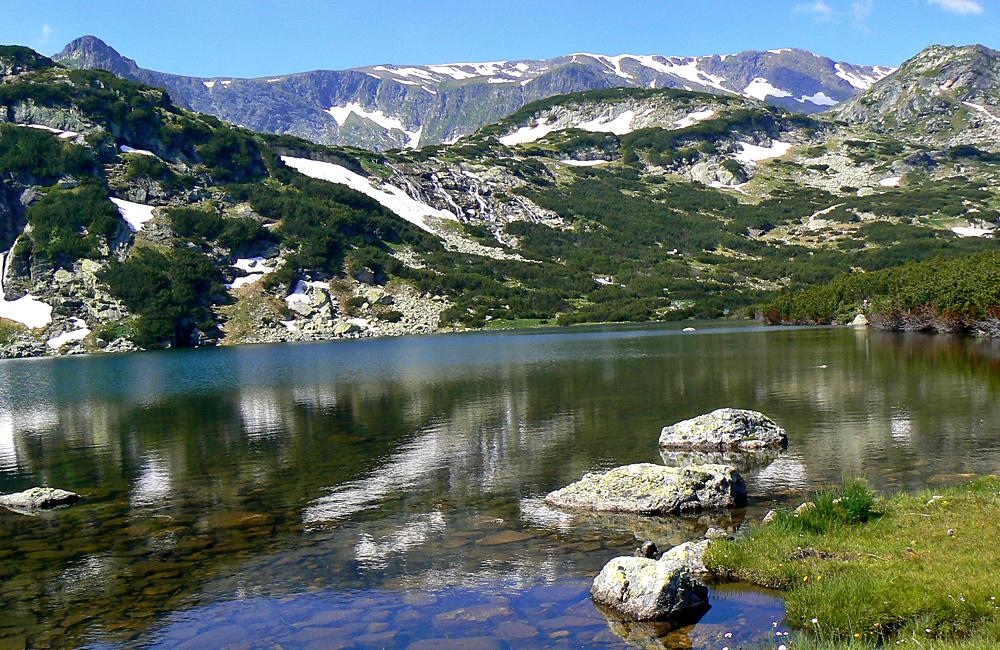 Escursioni e trekking nei sette laghi rila in bulgaria