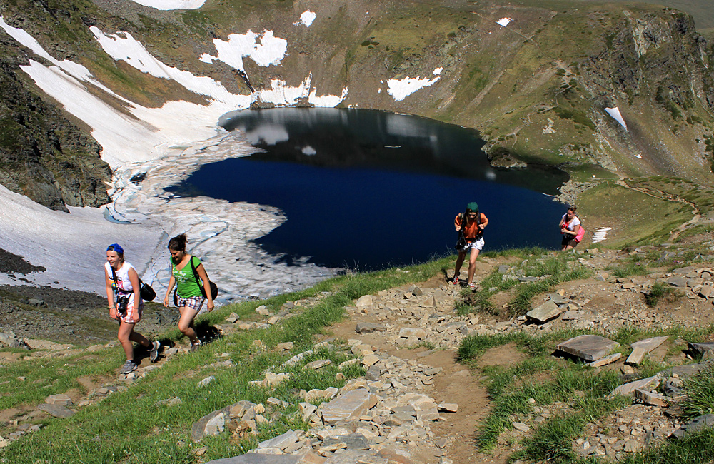 the seven rila lakes; guided trekking and hiking tours in rila mountains, bulgaria