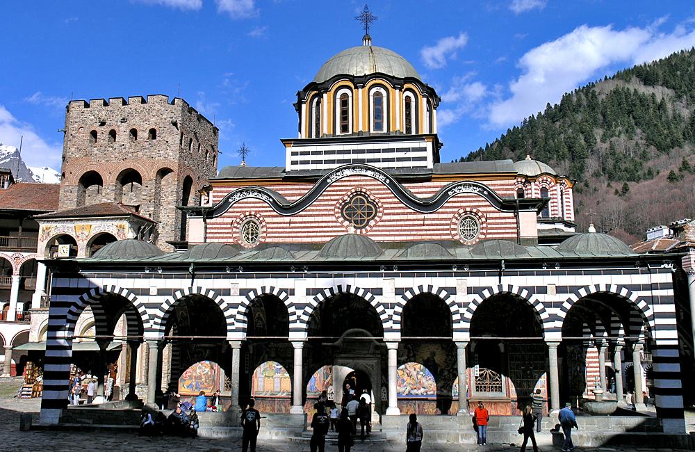 monastère de Rila, randonnées et trekking en bulgarie