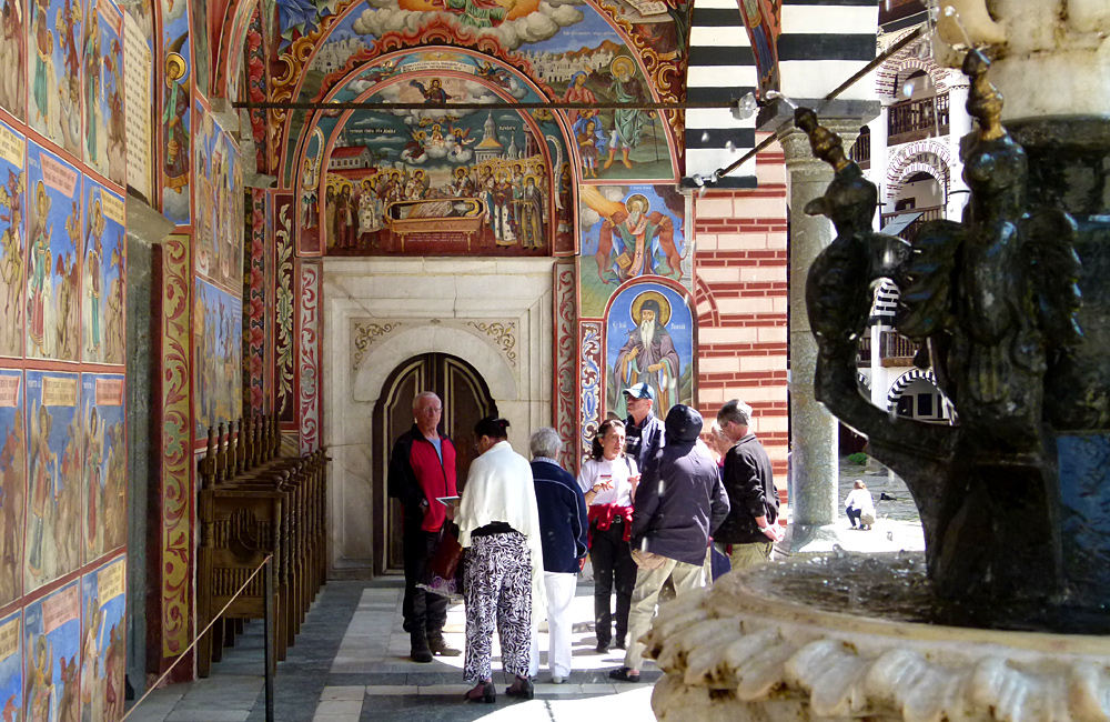 rila monastery tour; hiking and culture trip of bulgaria