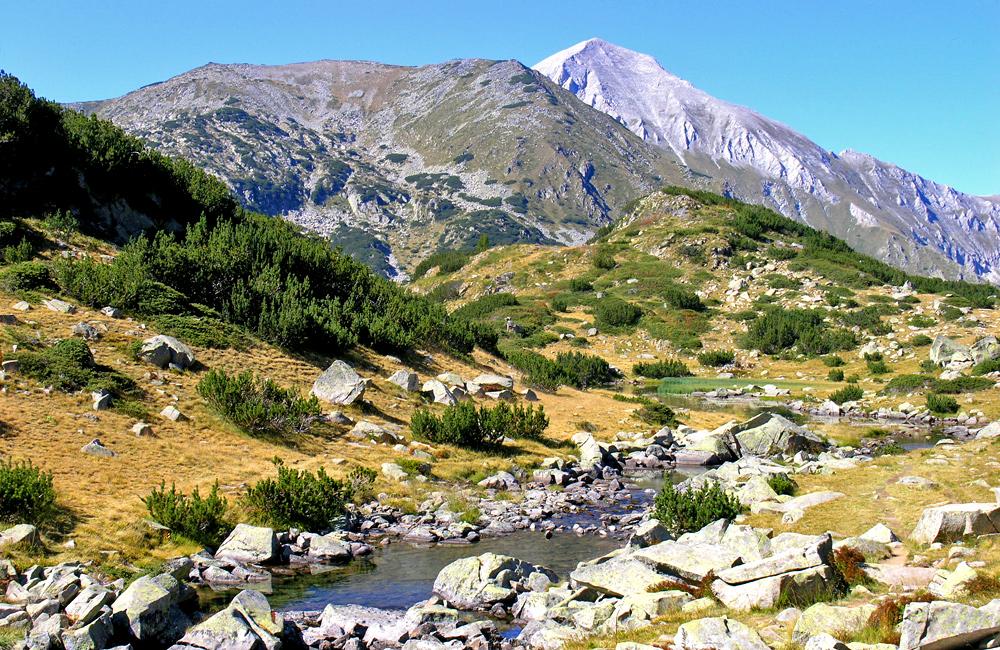 hiking holidays in bulgaria, pirin mountains