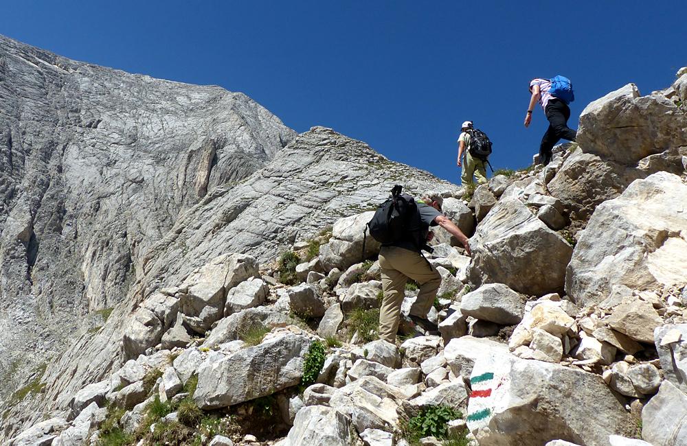Excursiones de senderismo y trekking montañas de pirin y rila en bulgaria