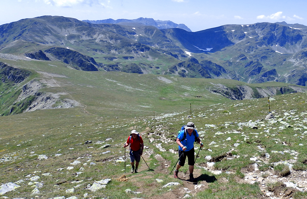 self-guided trekking and hiking tours in rila mountains, bulgaria