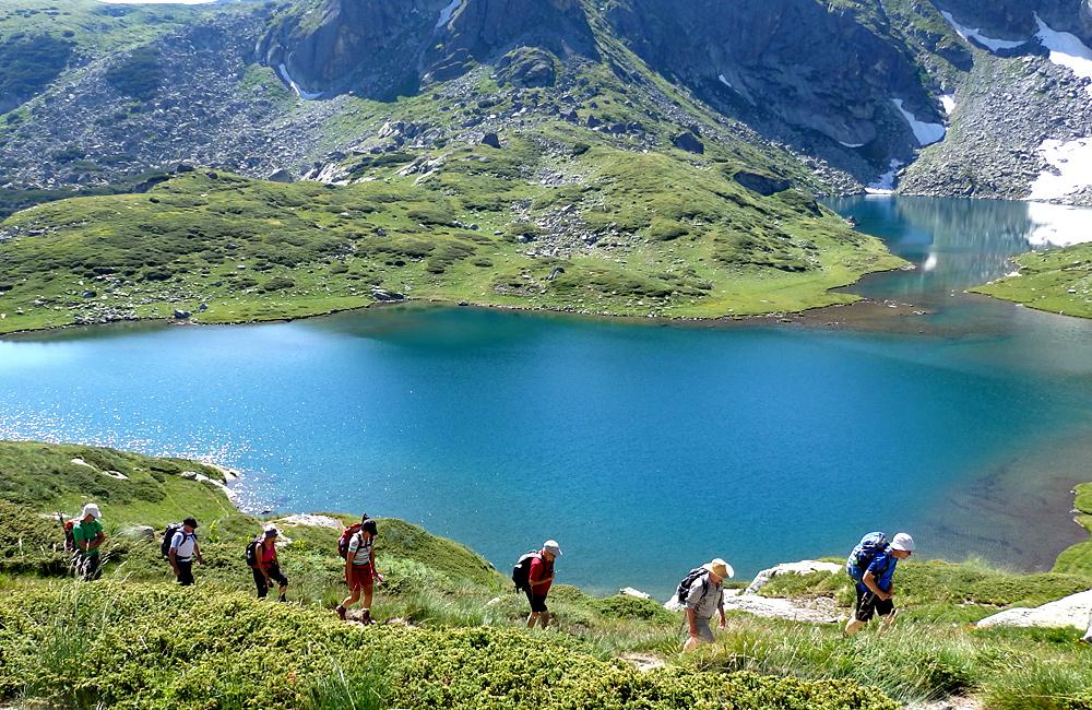 los siete lagos de rila, excursiones de trekking en las montañas de rila, bulgaria