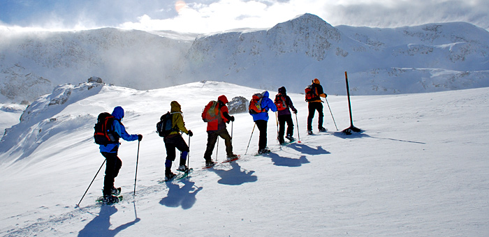 snowshoeing and winter trekking tour in bulgaria, rila and pirin mountains