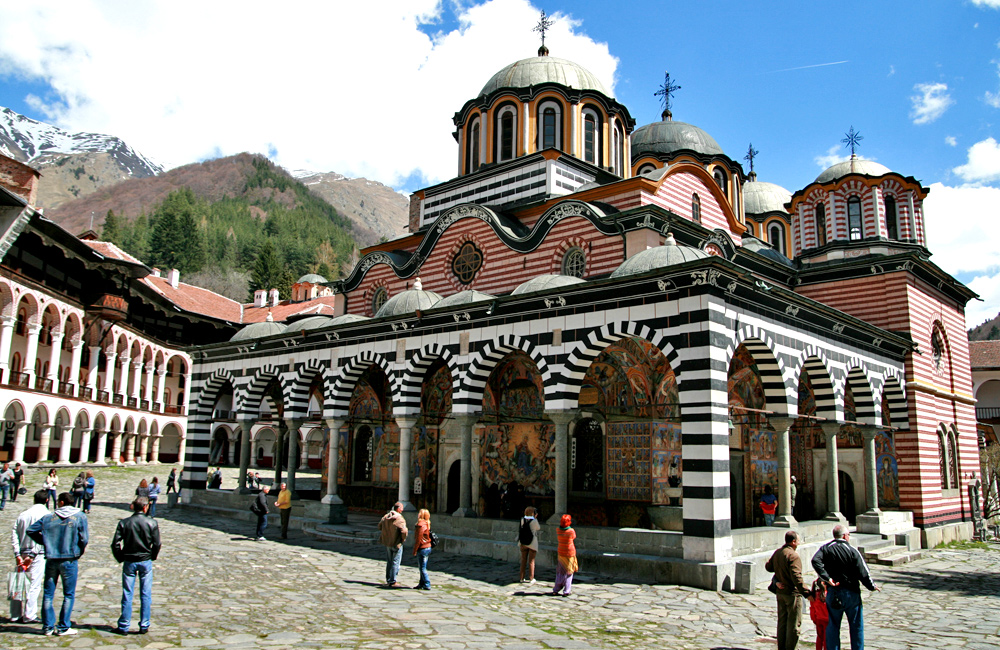 rila monastery hiking tours in bulgaria