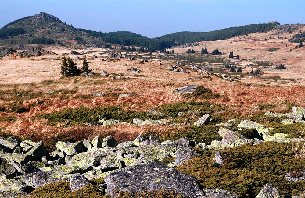 individuele en groepswandelreizen wandelvakanties in bulgarije Vitosha bergen