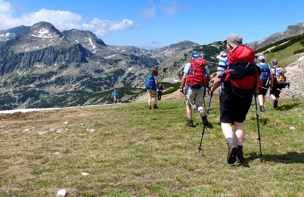 pirin mountains escorted hiking tours, bulgaria