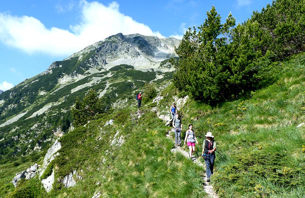 escursione autoguidata e trekking sulle montagne pirin in bulgaria
