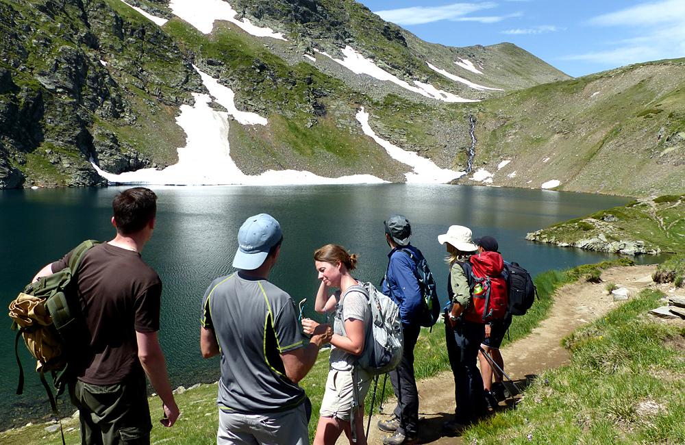 randonnée dans les montagnes de Rila, les sept lacs de Rila