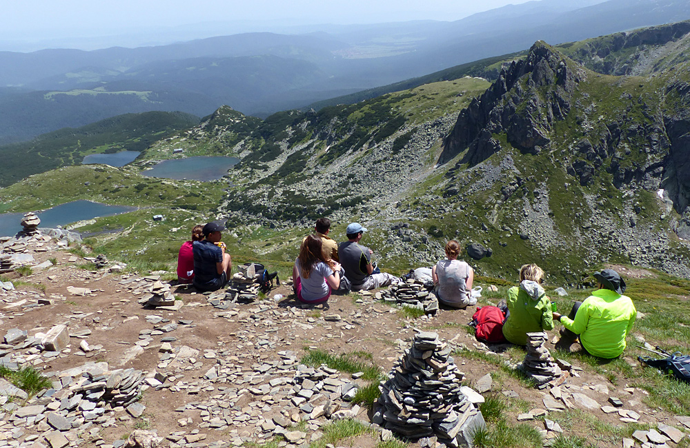 the seven rila lakes guided hiking tour in rila mountains