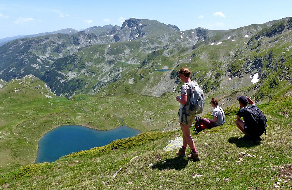 randonnées dans les montagnes de rila les sept lacs de rila