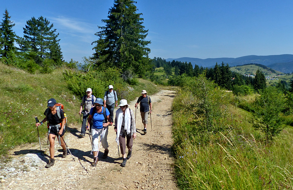 guided walking trip of bulgaria