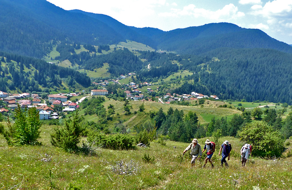 rhodope mountains walking tour, bulgaria