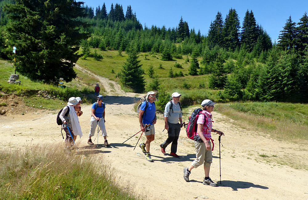 walking and hiking tours of the rhodope mountains, bulgaria
